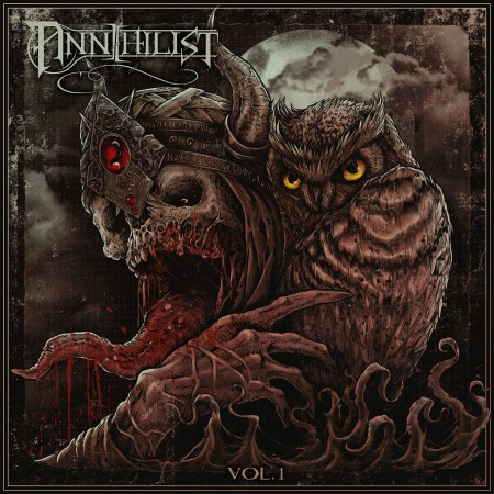 Annihilist 'Vol. 1' EP Cover