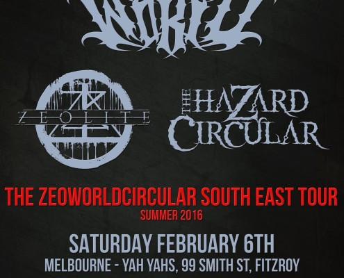 Annihilist - Zeoworldcircular Metal Tour Melbourne