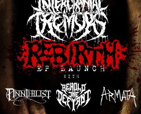 Intercranial Tremors Technical Death Metal EP Launch