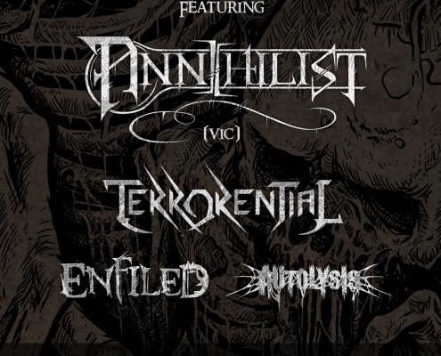 Death Fkn Metal Sydney Annihilist