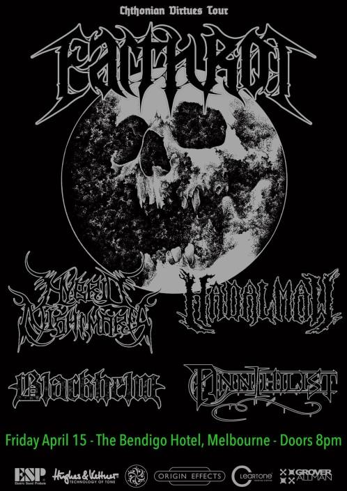 Earth Rot Bendigo Hotel Metal
