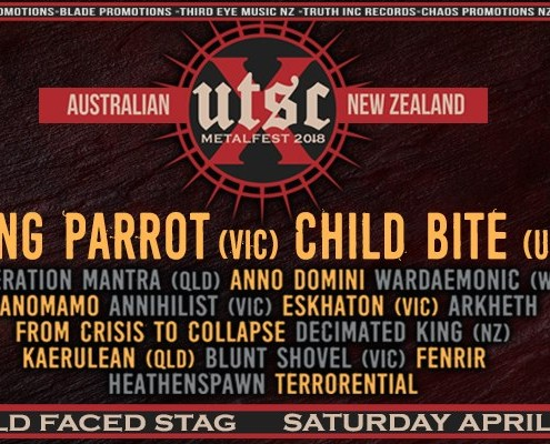 UTSC 10 Metalfest Sydney (18+) w/ King Parrot & Child Bite